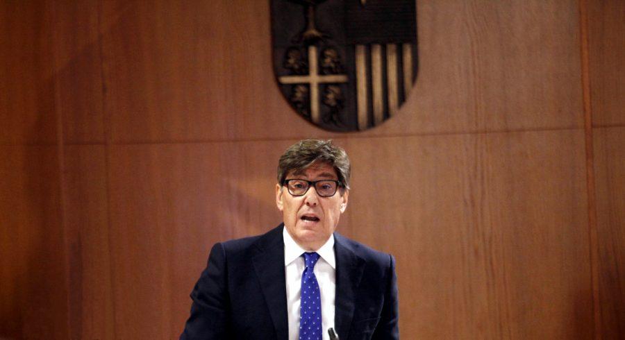 Arturo Aliaga interviene ante las Cortes - Jesús Guerrero