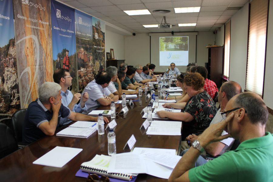 Fotografía de la reunión -  Turismo. Comarca de Somontano.
