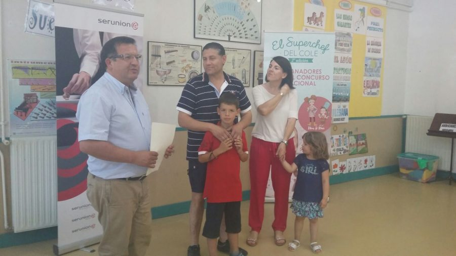 Alfonso Izquierdo, alumno del colegio CEIP La Merced de Barbastro ...