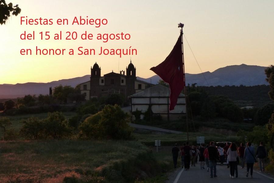 Fiestas en Abiego. Ronda Somontano.