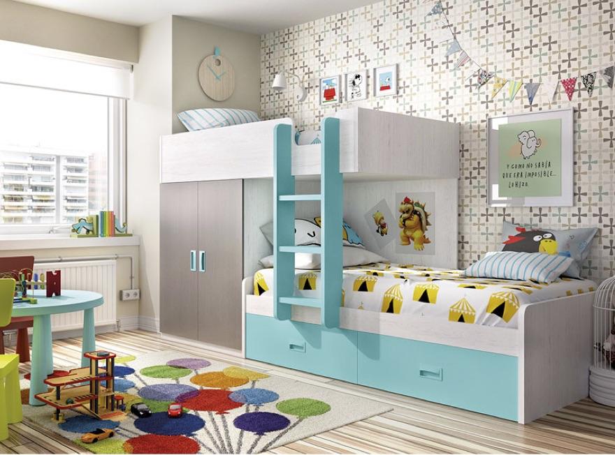 Ideas para amueblar y decorar una habitación para niños