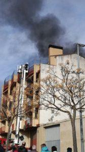 Incendio Barbastro_RondaSomontano.