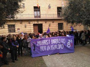 Huelga Feminista Barbastro_RondaSomontano.