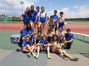 Grandes resultados del Club de Atletismo Barbastro en el Campeonato de Aragón Individual SUB 14