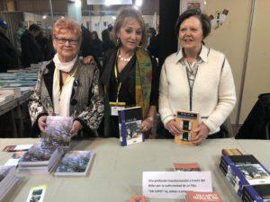 Tres autoras en la FLA. Ronda Somontano