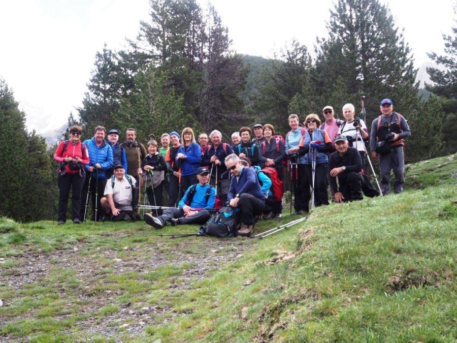 Foto de grupo sendero a Viadós
