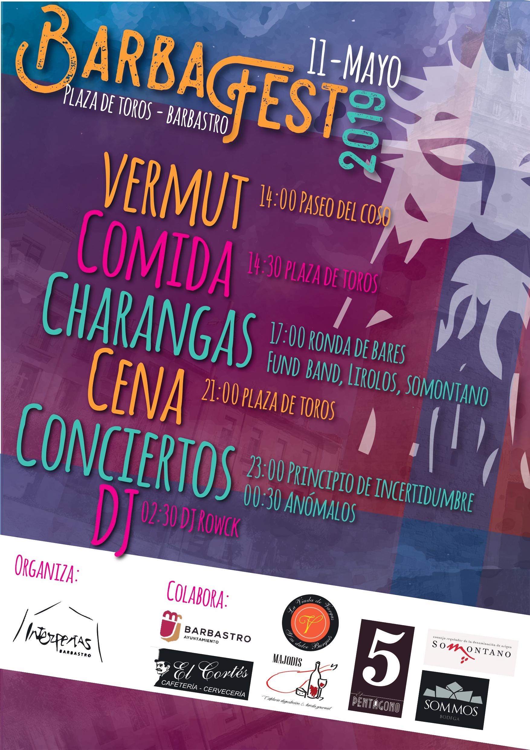 2507d6139 Este sábado Barbafest inundará de música las calles de Barbastro