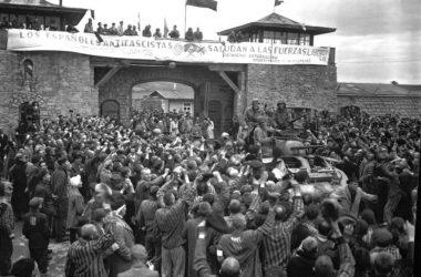 Mauthausen tras su liberación. Wikipedia.