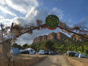 Imagen de la entrada al festival Own Spirit en Baldellou © Alejandro Lisa