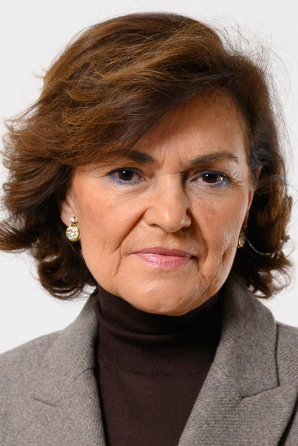 Carmen Calvo, imagen https://es.wikipedia.org/