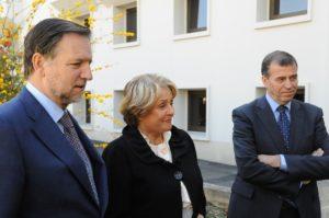 Iglesias, Durrieu y Cosculluela. (Foto: S.E.)