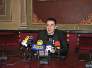 Iván Carpi, concejal de Fiestas. (Foto: S.E.)
