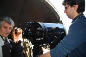 Observatorio de la UNED. Foto JLP.
