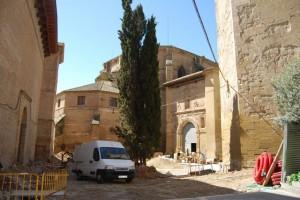 Obras del entorno catedralicio. Foto JLP.