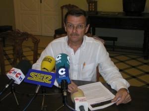 Luis Sánchez, concejal delegado de los premios literarios. Foto: S.E.