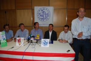 Presentación del torneo benjamín. Foto JLP.