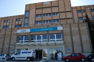 Hospital de Barbastro. Foto JLP.