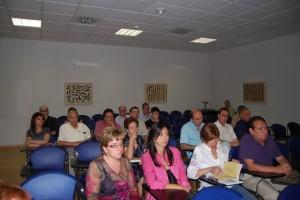 Asistentes a la presentación del libro. Foto JLP.