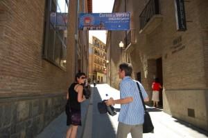 El centro de la UNED de Barbastro acoge la sexta edición de los cursos de verano. Foto JLP.