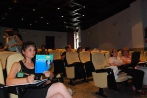El curso sobre comunicación es el más numeroso. Foto JLP.