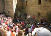 Las actuaciones tomarán las calles de Aínsa. Foto S.E.