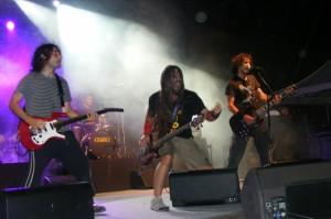 Azero actuaron en primer lugar. Foto: S.E.