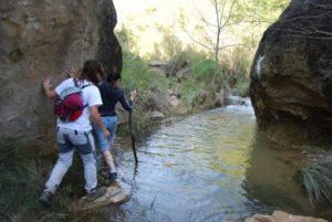 Río Calcón, por Labata. Foto JLP.
