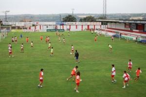 220 chavales participan en el Campus. Foto JLP.