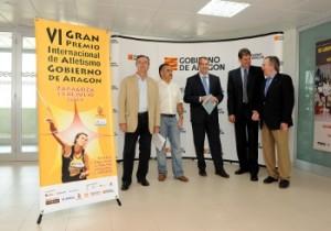 Presentación del VI Gran Premio de Atletismo. Foto S.E.