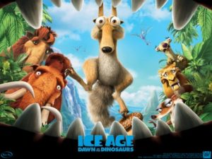 Cartel del film animado.