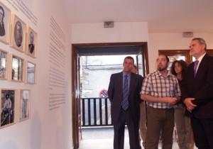 Inauguración de la exposición en Torla. Foto S.E.