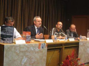 De izquierda a derecha, Pascau, Boné, Lampre y Tejedor.