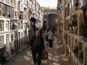 Cementerio de Barbastro. Foto JLP.