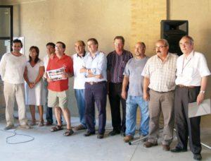 Foto de familia de los ganadores. Foto S.E.