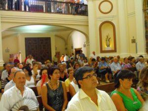 Celebración de la eucaristía. Foto D.M.