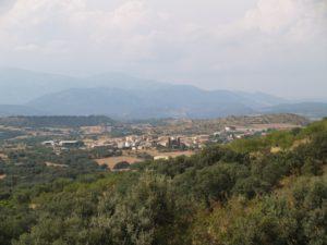 Vista de Abiego. Foto JLP.