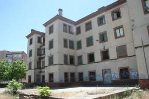 Viviendas de HNE de Monzón. Foto S.E.