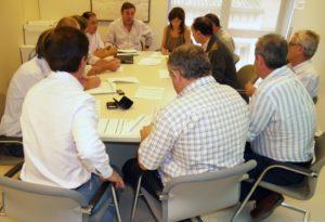 Reunión de la comisión de obras FEADER. Foto S.E.
