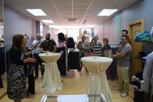 Inauguración de la tienda. Foto JLP.