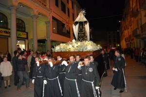 Nueva procesión recuperada en 2009. Foto JLP.