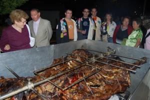 Cena del Sobaquillo de 2008. Foto JLP.