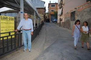 Joaquín Paricio, alcalde de El Grado. Foto JLP.