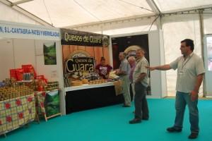 Ferma Gourmet atrajó a los visitantes. Foto JLP.