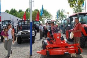 Maquinaria agricola todo un clásico en la feria. Foto JLP.
