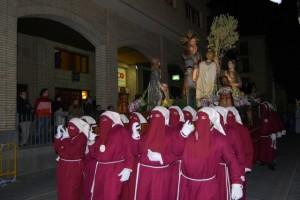 """El paso de la """"Burreta"""". Foto JLP."""