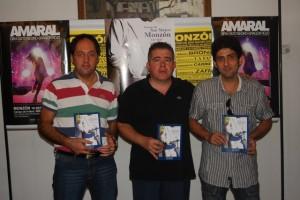 Salvador Figueiras, Javier Vilarrubí e Ismael Turmo. Foto JLP.