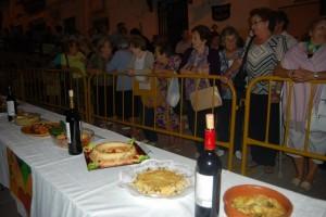 Algunos platos presentados al concurso. Foto JLP.