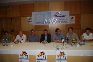 Presentación del XVII Medio Maratón Ruta Vino Somontano. Foto JLP.