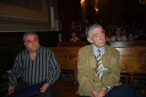 Miguel Merino y Emilio Fajarnés. Foto JLP.
