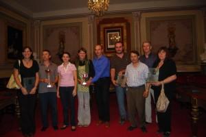 Premios al concurso de carrozas. Foto JLP.